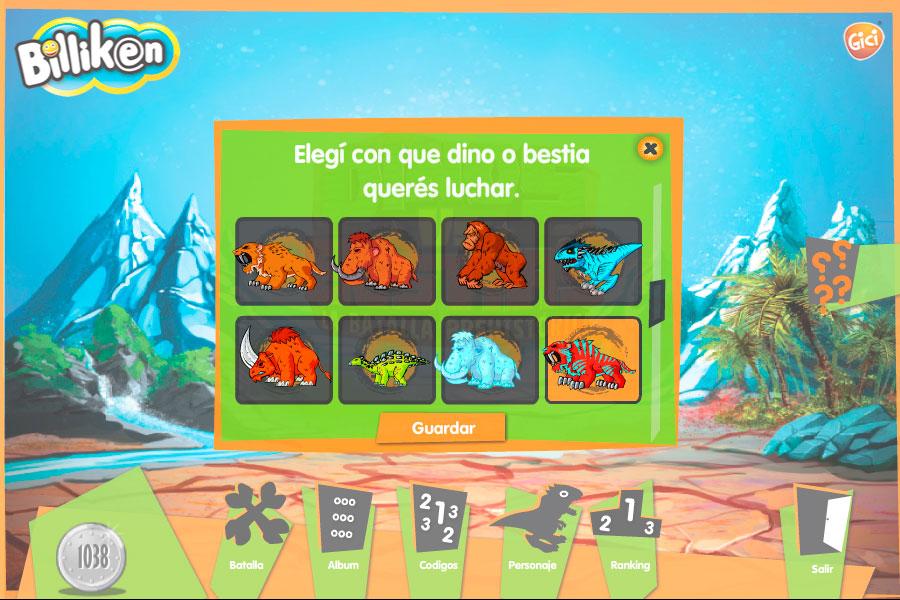 Dinos vs. Bestias