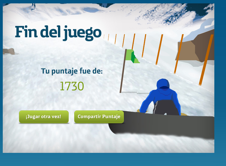 Movistar Winter Game
